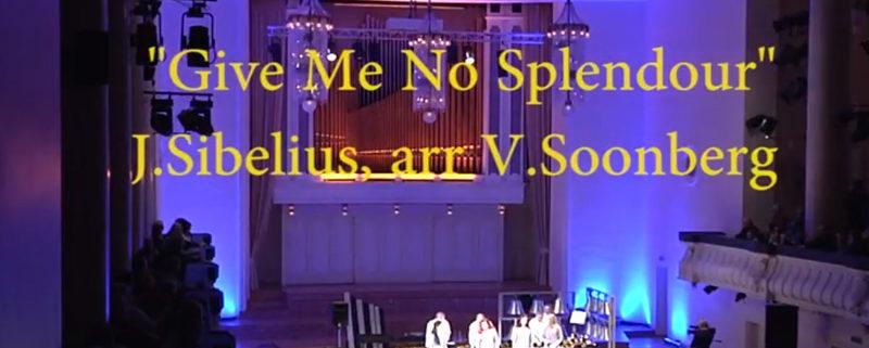 """Sibelius """"On jõuluvaikus üle maa"""" (2015, Estonia kontserdisaal)"""